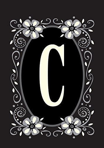 classic monogram c decorative flower