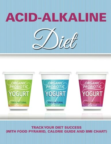 Acid-Alkaline Diet: Track Your Diet Success (with Food Pyramid, Calorie Guide and BMI Chart)