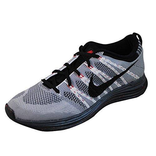 noir Lunar1 blanc Gris Nike Running Flyknit y17SC7Aq