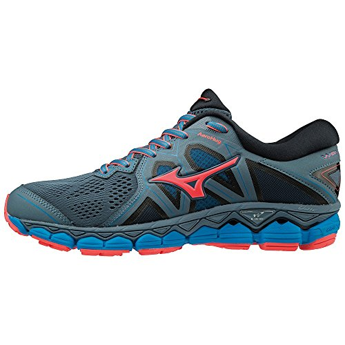 2 Femme fcoral Sneakers Basses Sky 001 Mizuno Multicolore bluem dblue Wave 4w1XEE