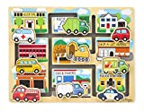 : Melissa & Doug Deluxe Wooden Vehicles Maze Puzzle