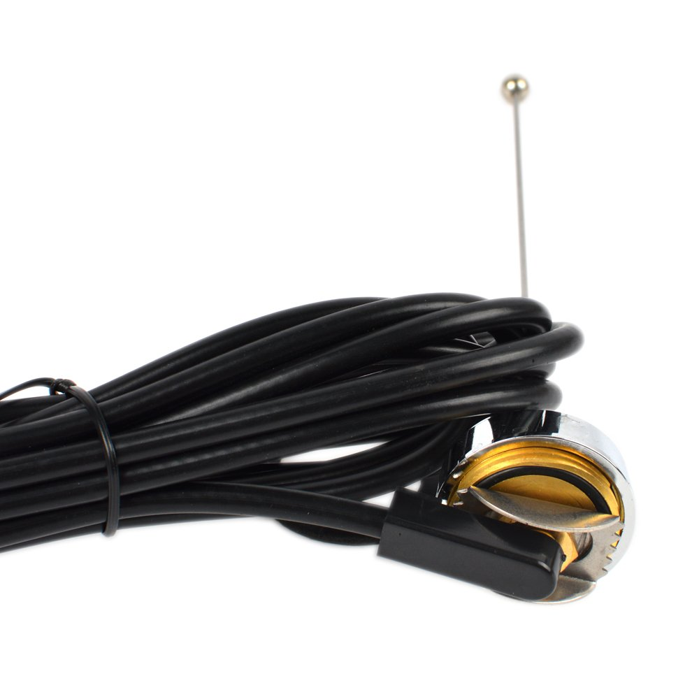 2M NMO VHF Trunk Antenna+Mount NMO PL259 connector and 13Ft of RG-58 Coax Cable