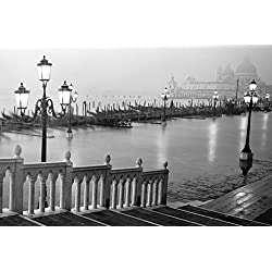 Grand Canal Steps Venice Italy - 36x24 Photograph Art Print Poster