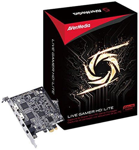 Avermedia Live Gamer HD Lite PCI Karte (HDMI, 3,5 mm Klinke) - PC-Gaming aufzeichnen und teilen
