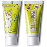 Intelligent Enzymatic Kids Toothpaste Grape – White Healthy Teeth for Baby and Toddler, Natural Unflavored Tooth Paste, SLS-F