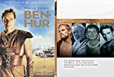 Religious Hollywood Classics - Ben Hur (50th Anniversary Edition), The Agony and the Ecstasy, The Bible...In the Beginning, Demetrius and the Gladiators, & The Robe 5-Movie DVD Bundle