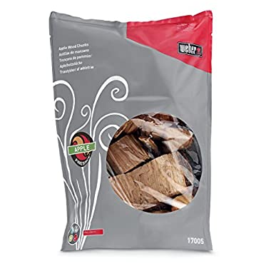 Weber 17005 Apple Wood Chunks, 5-Pound