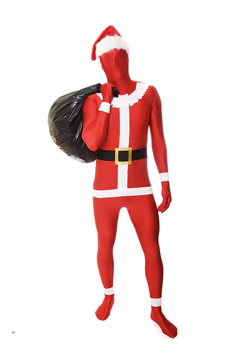 8a3cdb939 Amazon.com: Morphsuits Santa Claus Costume, Great For Christmas And Fooling  Around As Father Xmas.: Clothing