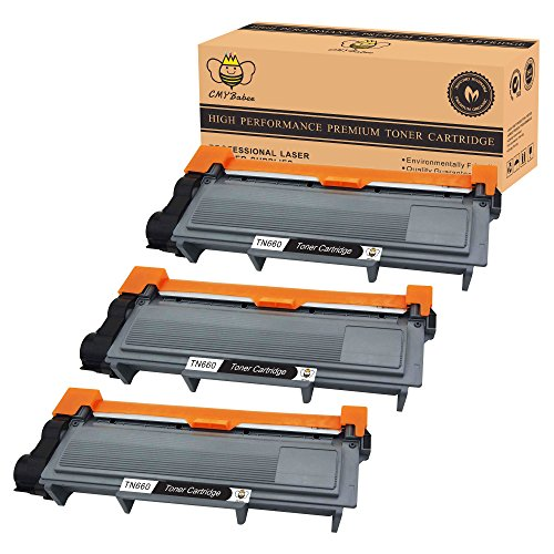 CMYBabee 3-Pack Compatible Toner Cartridge Replacement for Brother TN630 TN660 Black High Yield for HL-L2340DW HL-L2300D HL-L2380DW MFC-L2700DW L2740DW DCP-L2540DW L2520DW HL-L2320D Printer