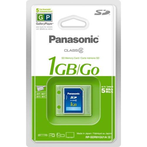 panasonic 1gb sd card - 3