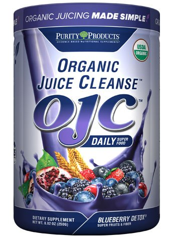 Certified Organic Juice Cleanse (OJC) - Blueberry Detox - Net Wt. 8.82 oz