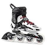Rollerblade Men's Maxxum 90 Fitness Inline Skate, Black/White, Size 12.5