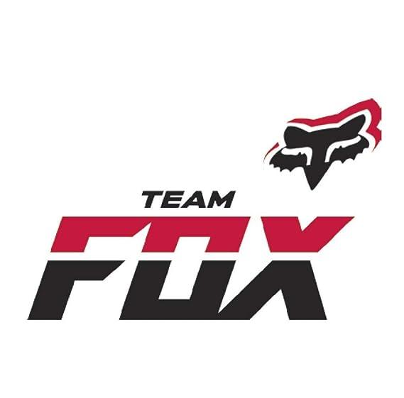 Fox Racing Fox Sticker Team Fox Black One Size At Amazon