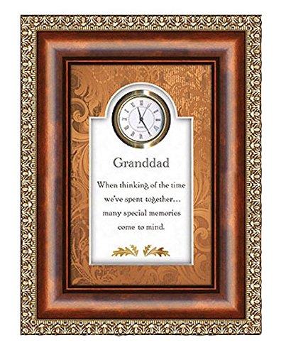 Sister Heartfelt Framed 6x8 Table Clock