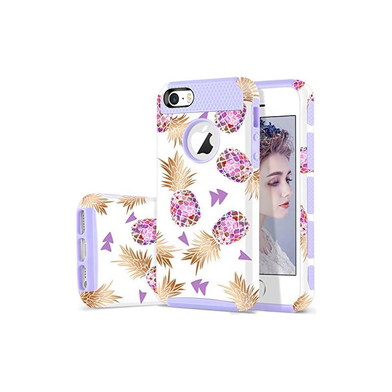 DUEDUE iPhone 5S Case,iPhone SE Case,iPh