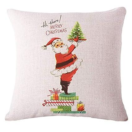 Amazon.com: FelixStore Merry Christmas Decorative Cushion ...
