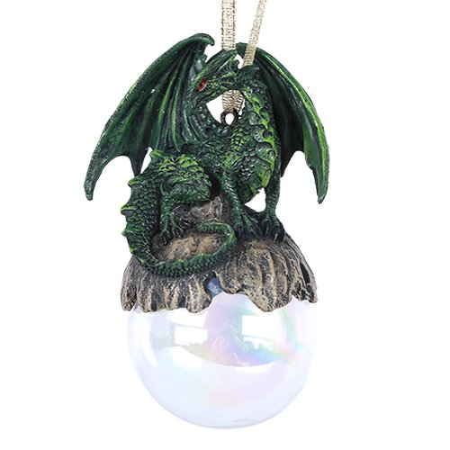Pacific Giftware Lord of The Forest Green Dragon