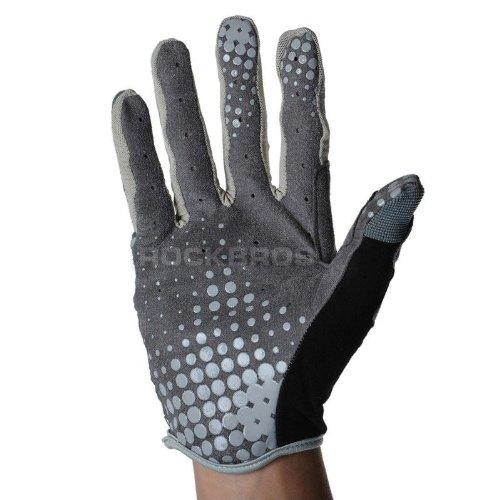 Giant Cycling Long Finger Gloves Full Finger Gloves Gray -XC (M)