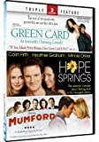 Hope Springs & Green Card + Mumford - Triple Feature