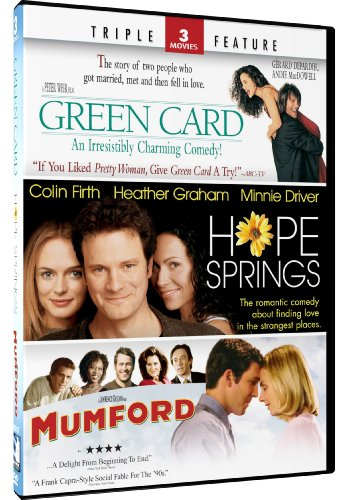 Hope Springs & Green Card + Mumford - Triple Feature by DIGITAL 1 STOP