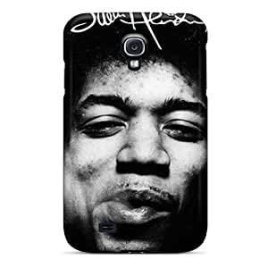 CharlesPoirier Samsung Galaxy S4 Great Hard Phone Case Allow Personal Design Beautiful Jimi Hendrix Pattern [mzs2656QCOF]