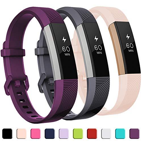 Mallas Para Reloj Fitbit Alta Hr (3 Unidades, Talle L)