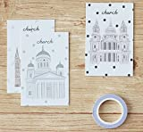 28pcs/packed two pack to sell sunday church