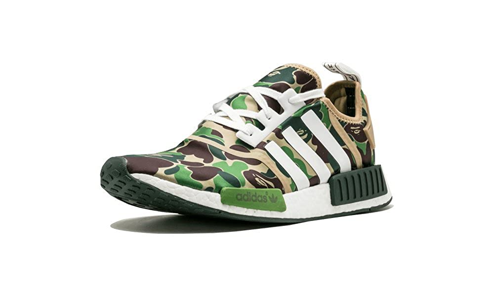 the latest 612e1 5ff56 Amazon.com   adidas NMD R1 BAPE  BAPE  - BA7326   Basketball