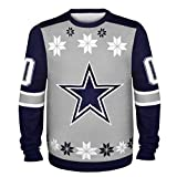 NFL Dallas Cowboys Ugly Sweater, Almost Right Pattern, Large