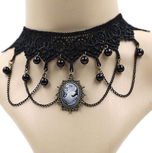 Eternity J. Elegant Vintage Princess Lace Gothic Necklace