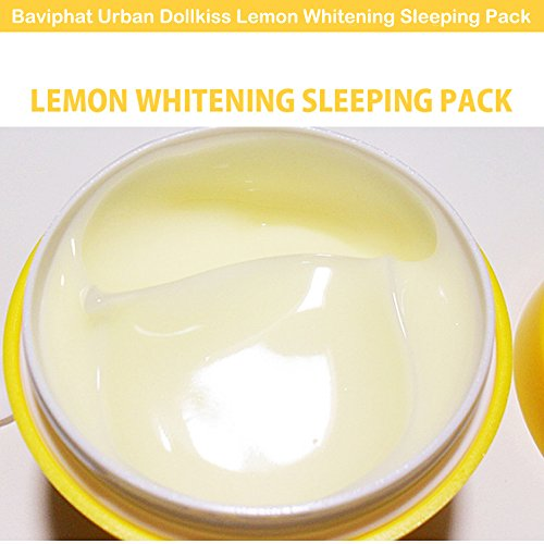 Картинки по запросу urban dollkiss lemon whitening sleeping pack