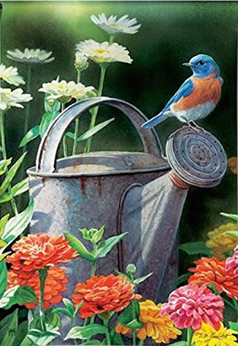 breezeart garden bluebird flag