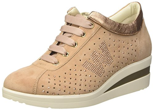 Rosa Melluso carne Donna Sneaker R20119 xFFwqT0PZ