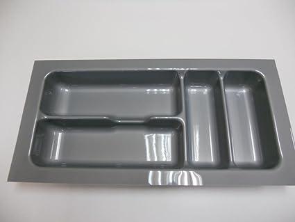 Cubertería-caja de 4 compartimentos (cubiertos de carga, plástico, cubiertos, portacubiertos