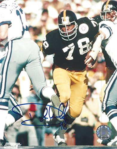 Dwight White Autographed Pittsburgh Steelers 8x10 Photograph -Certified Authentic -