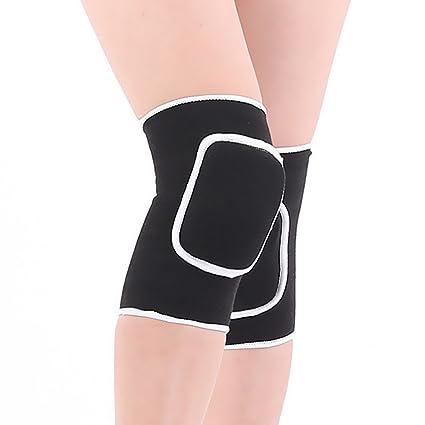 Amazon.com : Knee Pads Unisex Compression Thicken Sponge ...