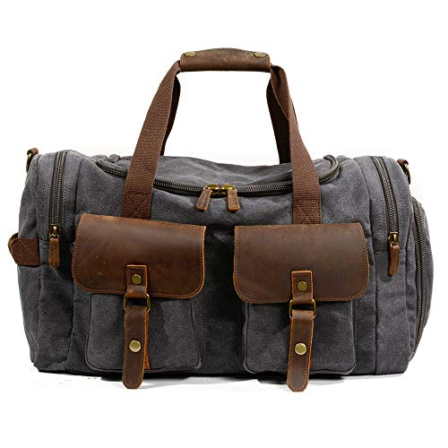 in tracolla Casual Backpack Outdoor Travel tela 23cm ayng Messenger a 30 Wy grigio tracolla a vintage Man grigio 53 vintage Borsa 7xX0nx6qf