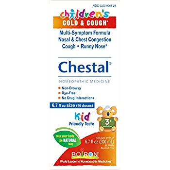 Amazon.com: Boiron Chestal Honey Adult Cough Syrup, 6.7 ...