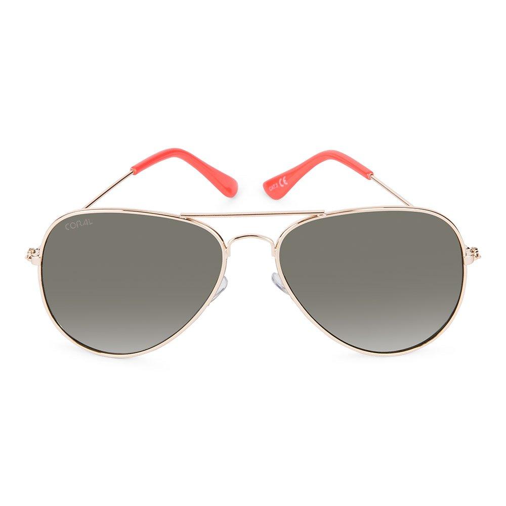 f265293d06 CORAL Sunglasses - MAVERICK - Gafas de sol con montura metálica dorada y lentes  verde clásico.: Amazon.es: Ropa y accesorios