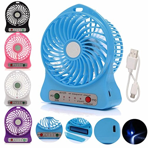 Portable Fan Mini Fan Mini Portable Usb Rechargeable Fan