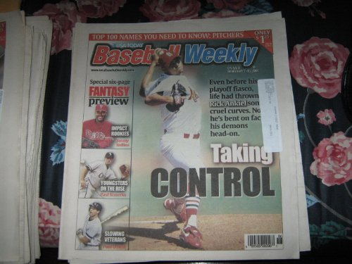 (Baseball Weekly , Rick Ankiel , Cardinals , February 7-12, 2001)