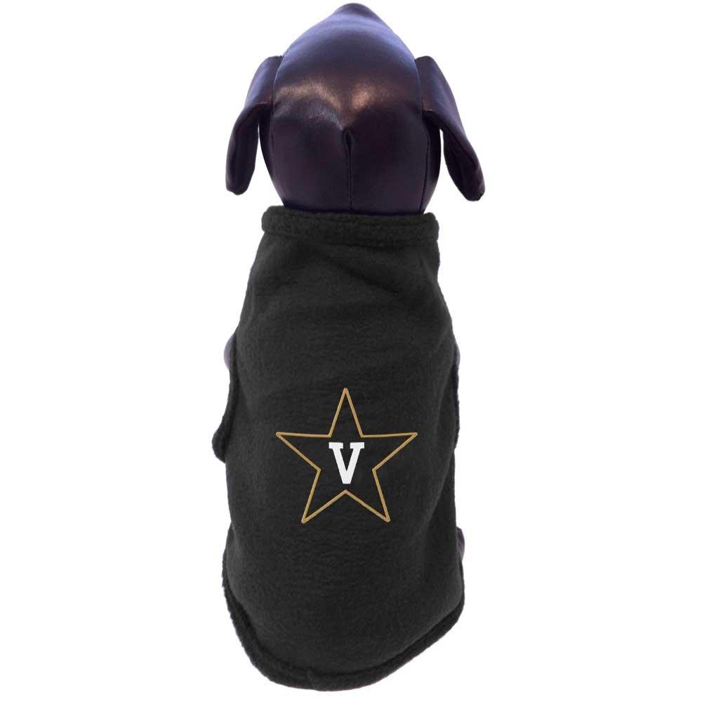 All Star Dogs NCAA Vanderbilt Commodores Sleeveless Polar Fleece Dog Sweatshirt