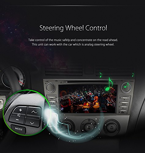 XTRONS Double 2 Din 8 inch HD Digital Touch Screen Car