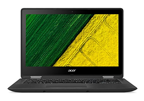 "Acer SP5135157TPREF Laptop, Intel Core: i5-7200U, 2.5 GHz, 256 GB, Intel HD Graphics 620, Windows 10 Home, Black, 13.3"" (Certified Refurbished)"