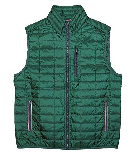 loft Collection Platinum Cold Stop Vest Jacket (Pine Green, Medium) ()