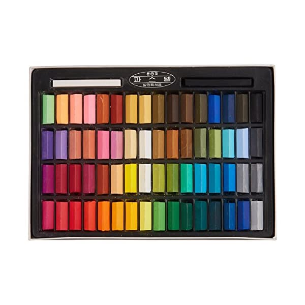 Mungyo-Non-Toxic-Square-Chalk-Soft-Pastel-64-Pack-Assorted-Colors-B441R078-7003A