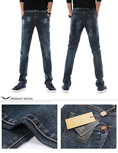 Jeans Jeans Tamaños Largos Denim Pantalones Ropa Pantalones T Fashion Pants Casuales Stretch Vintage Straight Dh8117xblau Cómodos Mens Slim Pantalones ZEwq0HSw