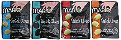 Mario Camacho Foods Snack Olives, 1.05 Ounce (Pack of 12) from Mario Camacho Foods, LLC
