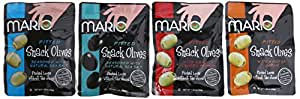 Mario Camacho Foods Snack Olives, 1.05 Ounce (Pack of 12)
