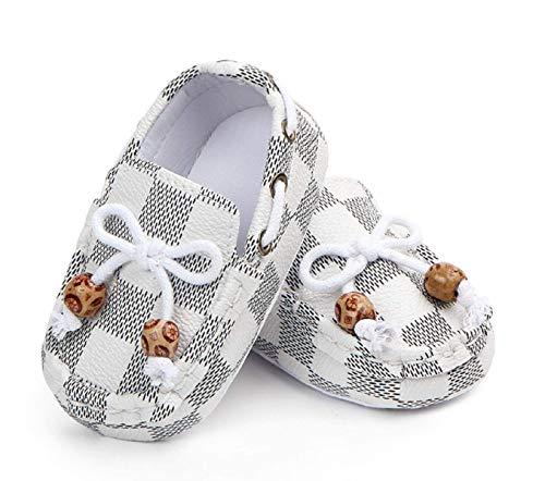 Fashion Unisex Classic Loafers for Boys Girls Newborn Pu Leather Soft Sole First Walker Kids Footwear Mix Colors Prewalker 0-12M (1)